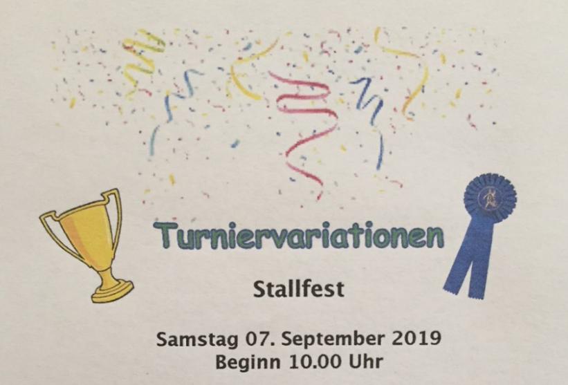 Bodmer Stallfest 2019